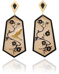 Anna E Alex - Fiori Di Ciliegio Earrings - Lyst