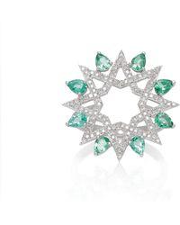Ralph Masri - Diamond Star Ring - Lyst