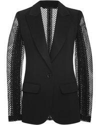 Elie Saab - Macramé Sleeve Tuxedo Jacket - Lyst