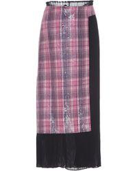 Rahul Mishra - Dwelien Pleated Skirt - Lyst