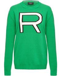 Rochas - Long Sleeve Knit Top - Lyst