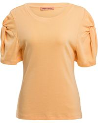 Maggie Marilyn - Knot On Knotted Organic Cotton T-shirt - Lyst