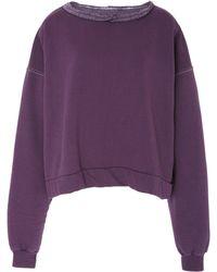 Rachel Comey - Mingle Cotton Blend Sweatshirt - Lyst