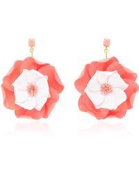 Oscar de la Renta | Petunia Drop Earrings | Lyst