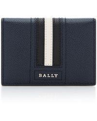 Bally - Folding Calfskin Card Case - Lyst