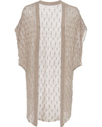 Hensely - Shawl Sweater - Lyst