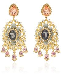 Marchesa - Chandelier Earrings - Lyst