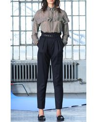 WHIT - Beckett Herringbone Wool Pants - Lyst