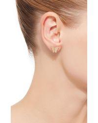 Efva Attling - Little Miss Butterfly Earrings - Lyst