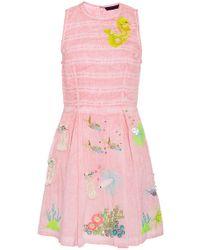 Manish Arora - Life Aquatic Embroidered Short Dress - Lyst
