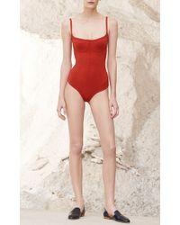 Gabriela Hearst - Medea Bodysuit - Lyst