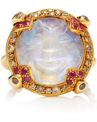 Sylvie Corbelin - One-of-a-kind Carved Moonstone Ring - Lyst