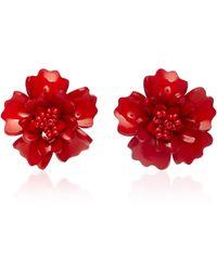 All Things Mochi - Gardenia Earrings - Lyst
