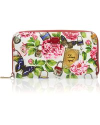 Dolce & Gabbana | Printed Leather Wallet | Lyst