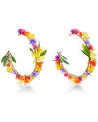 Mercedes Salazar - Fiesta Flower Earrings - Lyst
