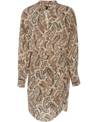 Nili Lotan - Leora Silk Dress - Lyst
