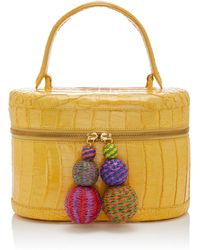 Nancy Gonzalez - Fiesta Crocodile Train Case - Lyst