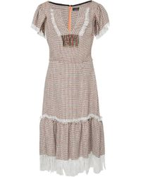 Frederick Anderson - Multicolour Tweed Dress - Lyst
