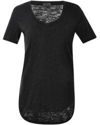 ATM - Stretch Modal V-neck T-shirt - Lyst