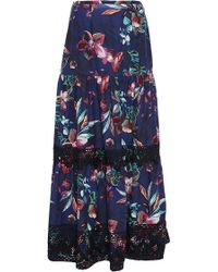 Warm - Swelter Maxi Skirt - Lyst