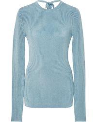 Jill Stuart - Colette Open Back Knit - Lyst