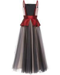 Bibhu Mohapatra - Tulle Peplum Ball Dress - Lyst
