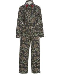 Manoush - Floral Printed Jumpsuit - Lyst