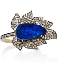 Sanjay Kasliwal - Silver-plated Gold Opal Ring - Lyst