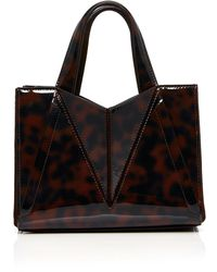 Cushnie et Ochs - Mini James Tote In Tortoise - Lyst