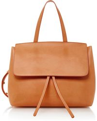 Mansur Gavriel - Lady Mini Leather Tote - Lyst