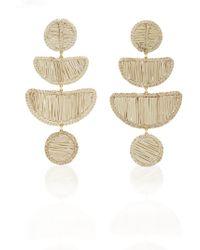 Mercedes Salazar - Movil Beige Earrings - Lyst