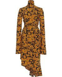 Ellery - Turner Turtleneck Jersey Corset Dress - Lyst
