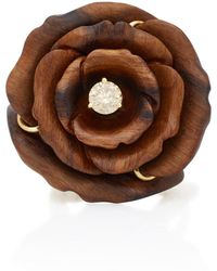 Silvia Furmanovich - Marquetry Rose Ring - Lyst