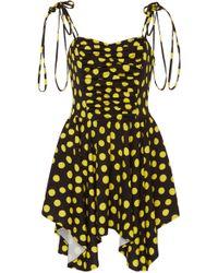 Attico - Cady Polka Dot Dress - Lyst