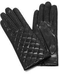 Maison Fabre - Quilted Leather Gloves - Lyst