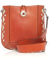 Isabel Marant - Vintage Studded Oskana Bag - Lyst