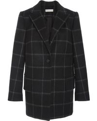 Nellie Partow - Brody Brushed Windowpane Jacket - Lyst