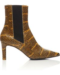 Aeyde - Leila Snake Boot - Lyst