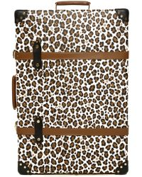 Charlotte Olympia - X Globe-trotter Leopard-print Leather Shoe Case - Lyst