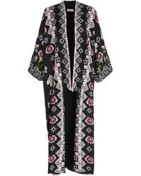 Temperley London - Flux Midi Kimono - Lyst