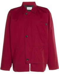 Lemaire - Asymetrical Jacket - Lyst