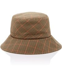 Eric Javits - Checked Bucket Hat - Lyst