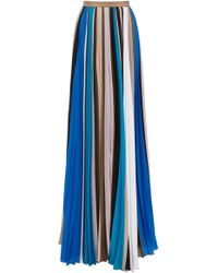 Prabal Gurung - Pleated Maxi Skirt - Lyst