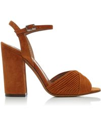 Tabitha Simmons - Kali Suede Sandals - Lyst