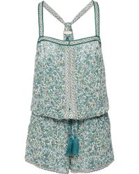 Talitha - Intricate Print Playsuit - Lyst