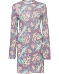 The Elder Statesman - M'o Exclusive Ao Floral Printed Favorite Polo Dress - Lyst