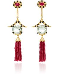 Hanut Singh - One-of-a-kind Deco Tassel Earrings - Lyst