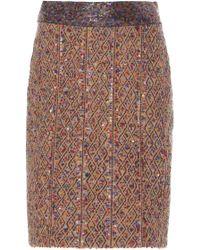 Rahul Mishra - Hase Knit Pencil Skirt - Lyst