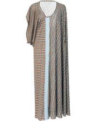 Yvonne S - Printed Jersey Maxi Dress - Lyst