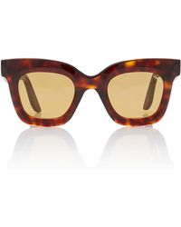 LAPIMA - Lisa Square-frame Tortoiseshell Acetate Sunglasses - Lyst
